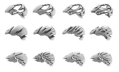 One hundred helmets - pt. 11 by everydaydennis