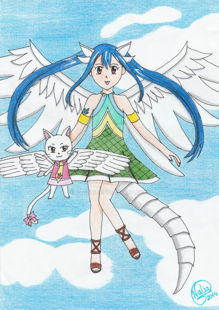 Wendy, dragon slayer del cielo by ragnya on DeviantArt
