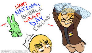 HAPPY NATIONAL BUBBLE WRAP DAY!