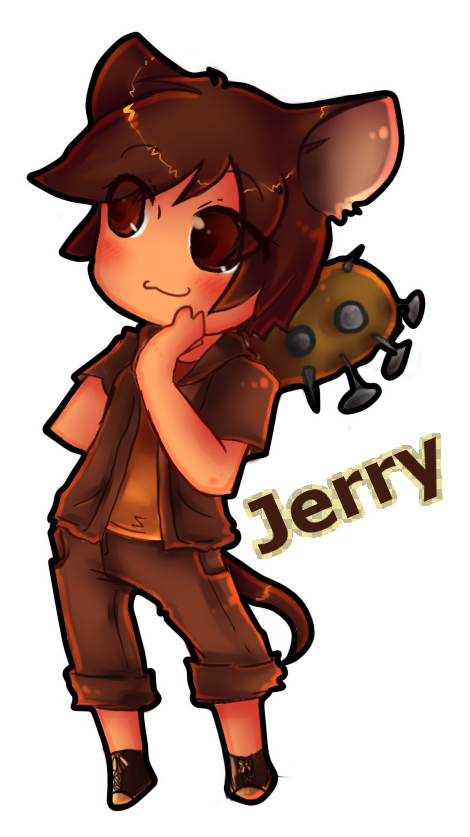 Tom and Jerry Humans: Jerry Mouse by GeekyKitten64