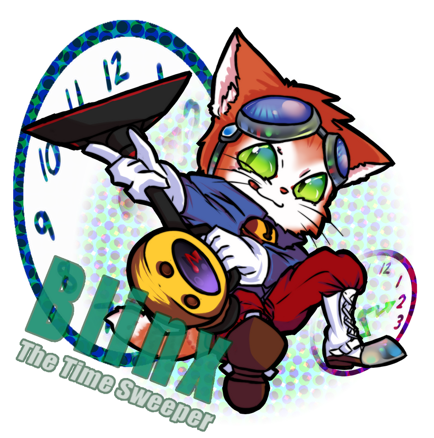 Blinx The Time Sweeper by GeekyKitten64