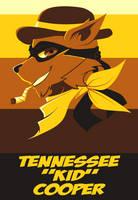 Tennessee Kid Cooper Head Shot by GeekyKitten64