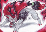 Zoroark- Touch my pup and die