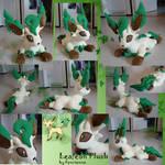 Leafeon plush