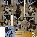 Winter Mebukijika plush
