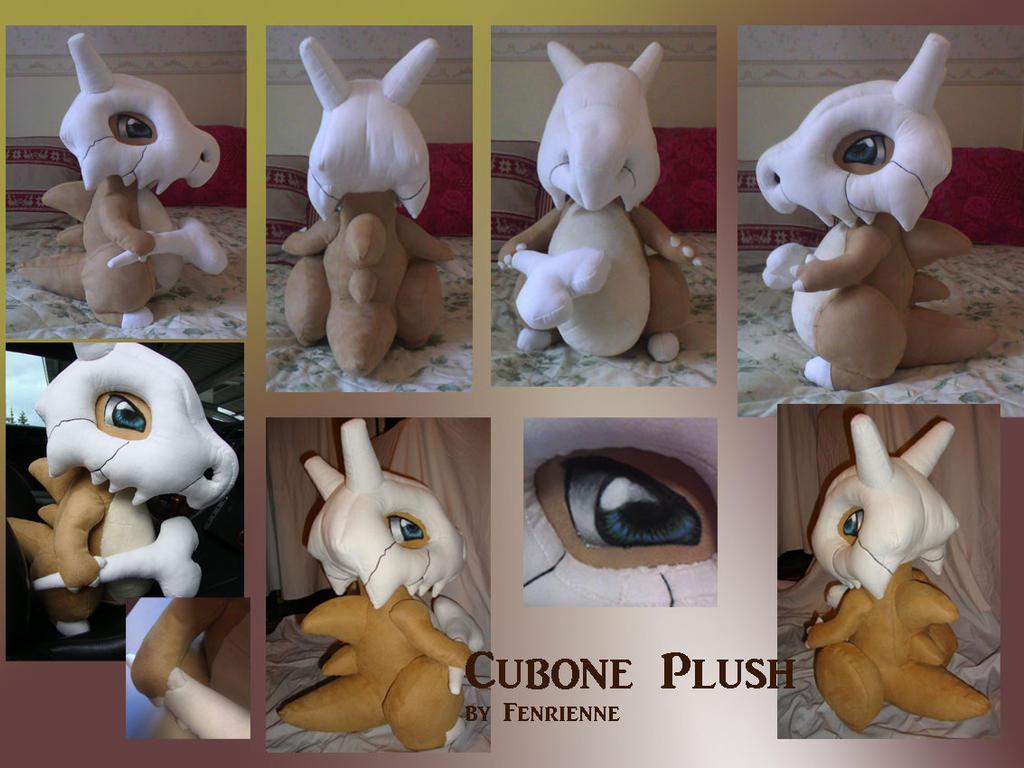 Cubone Plush by Fenrienne
