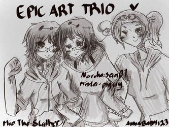 EPIC ART TRIo by Mister-PigCry