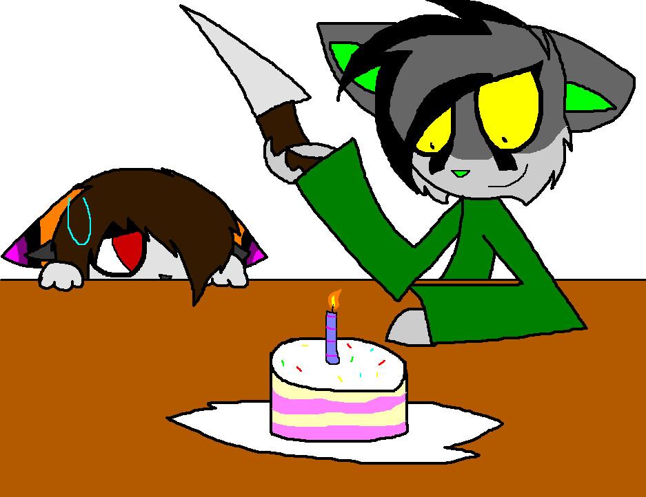 birthday gift for Borachii by XxBlankBlakexX