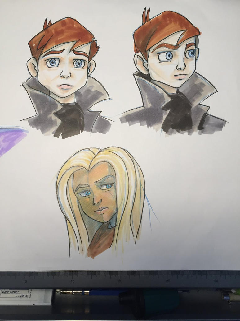 Copic sketches by Fang-a-roo