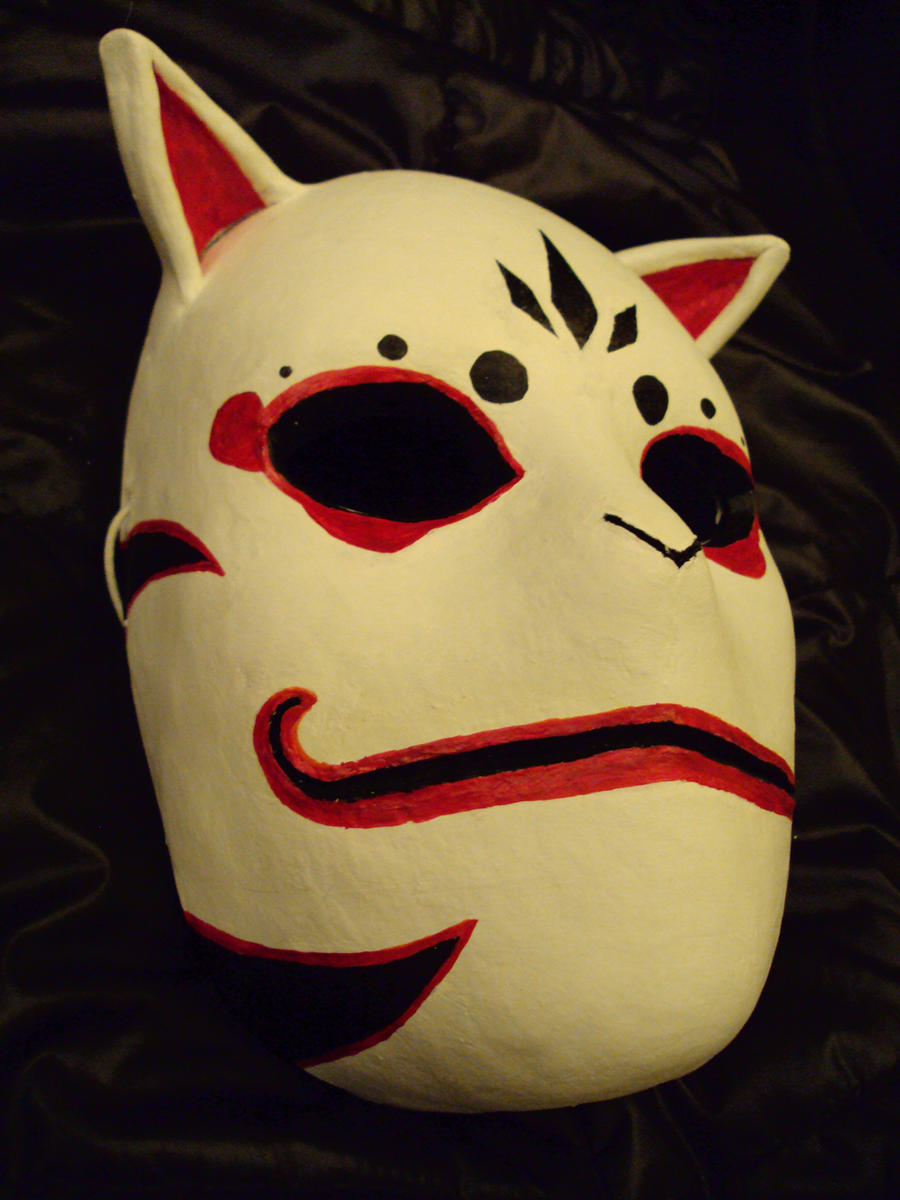 ANBU Mask by Akilika on DeviantArt