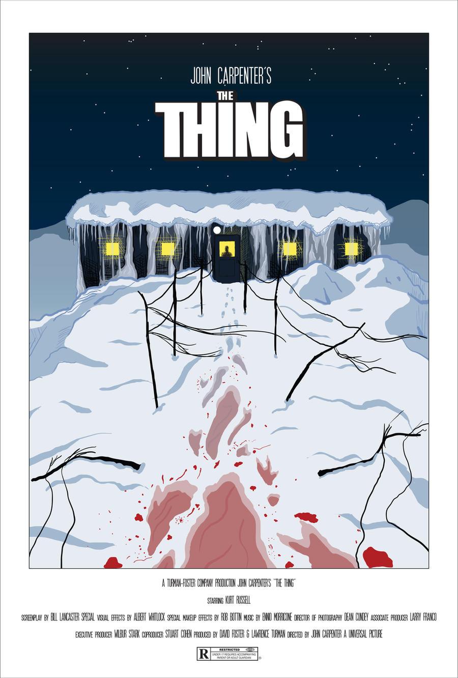 Poster design john foster - John Carpenter S The Thing Poster By Evanlamedicaart John Carpenter S The Thing Poster By Evanlamedicaart
