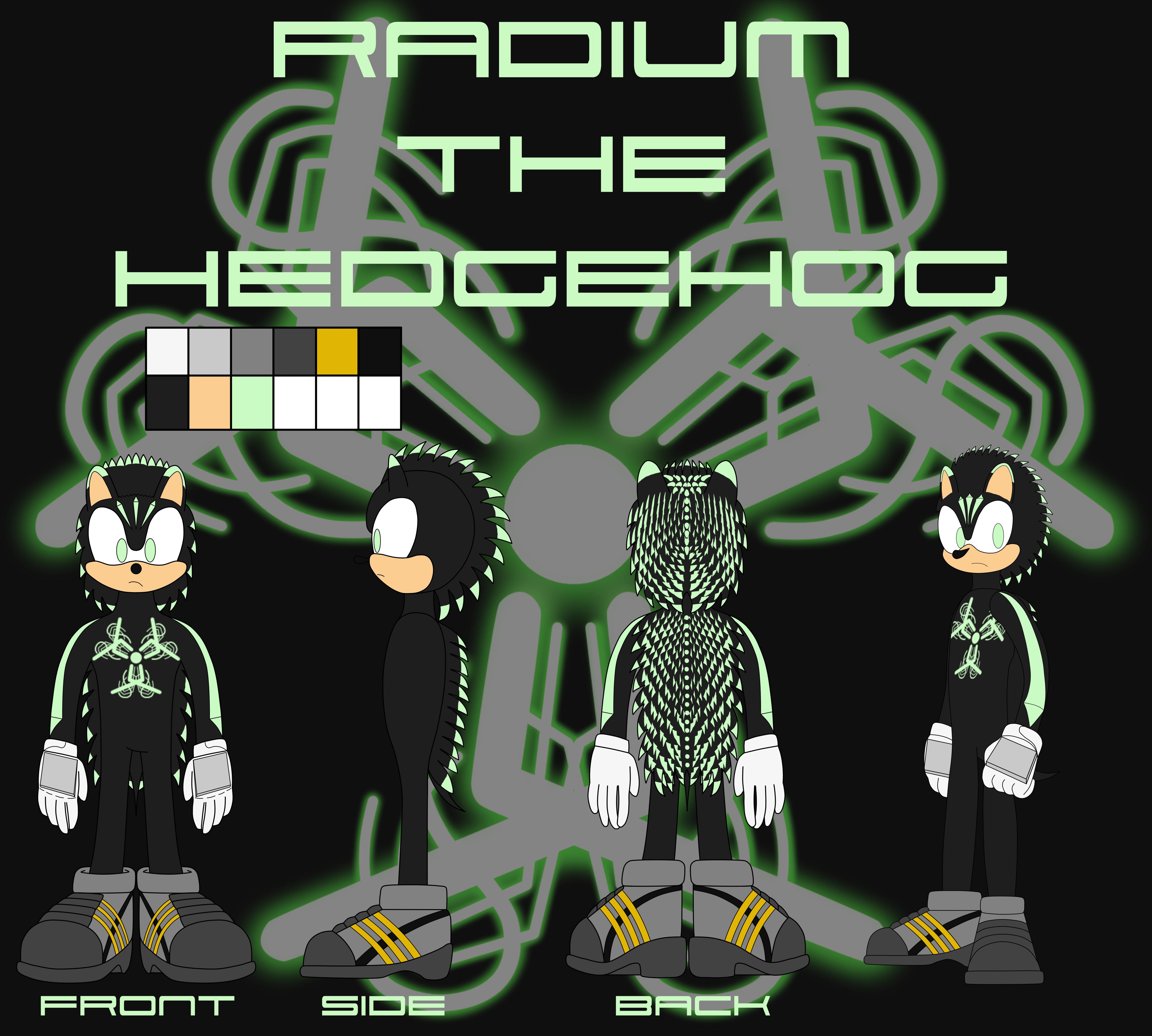 Radium the Hedgehog by MostWanted06