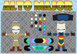 Alto Major the Polar Bear (ref) by MostWanted06