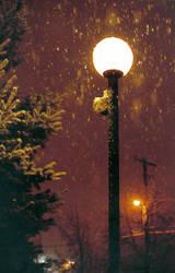 Snowy morning by Fragmentchaz