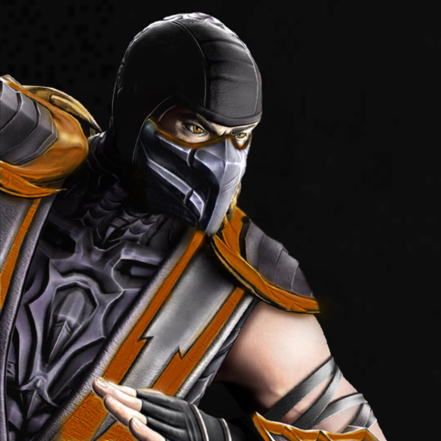 Mortal Kombat Raiden Drawings MORTAL KOMBAT ORANGE N...
