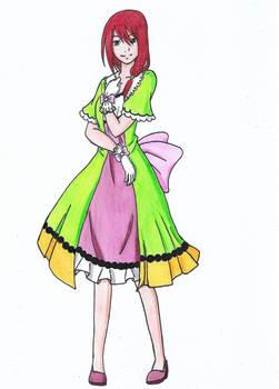 Nagamonogatari 16: HNM - Momo Takatsukasa