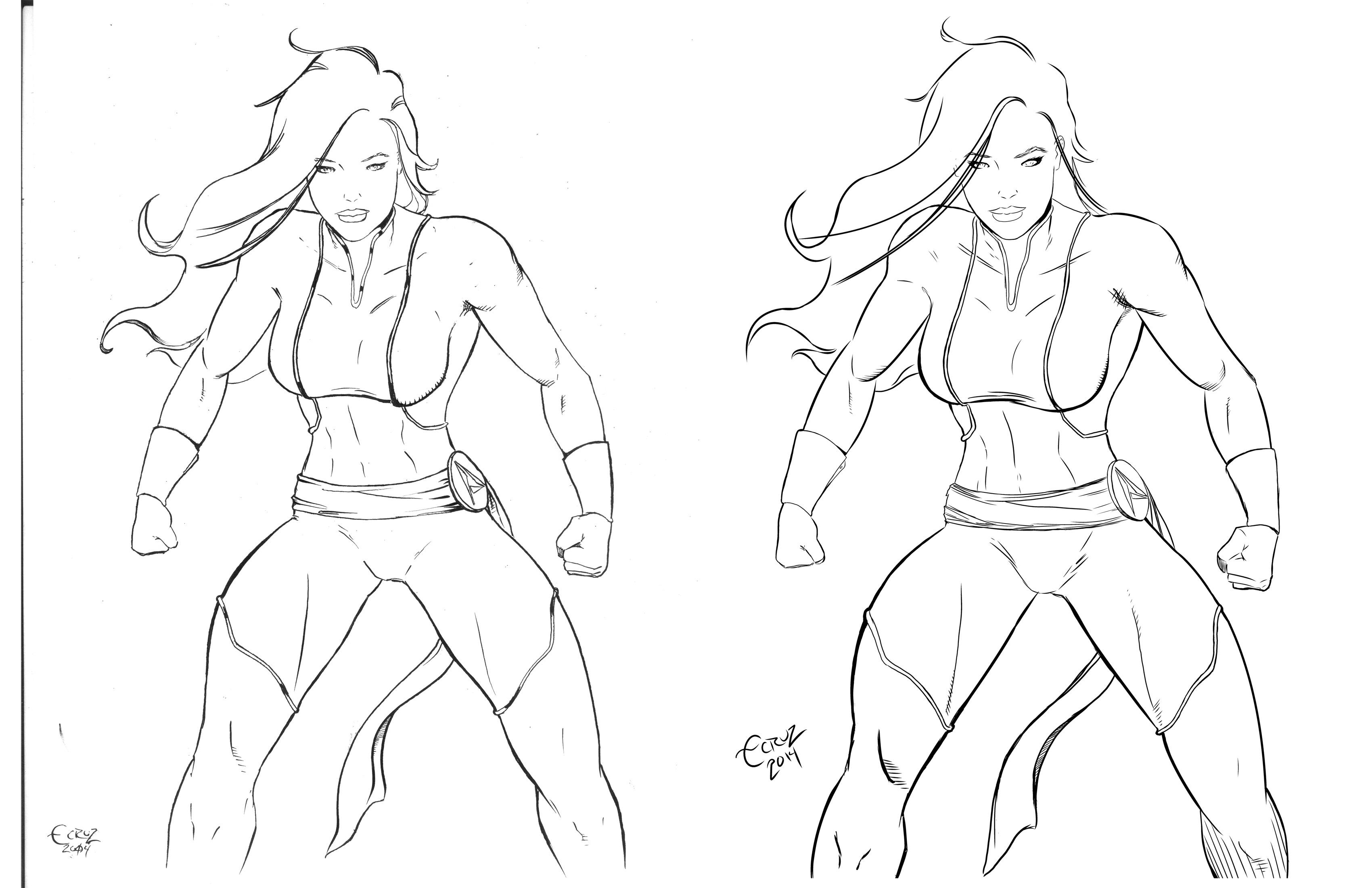 Ms Amazing inks comparison