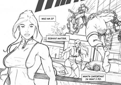 Ms Amazing ashcan Page 1 preview