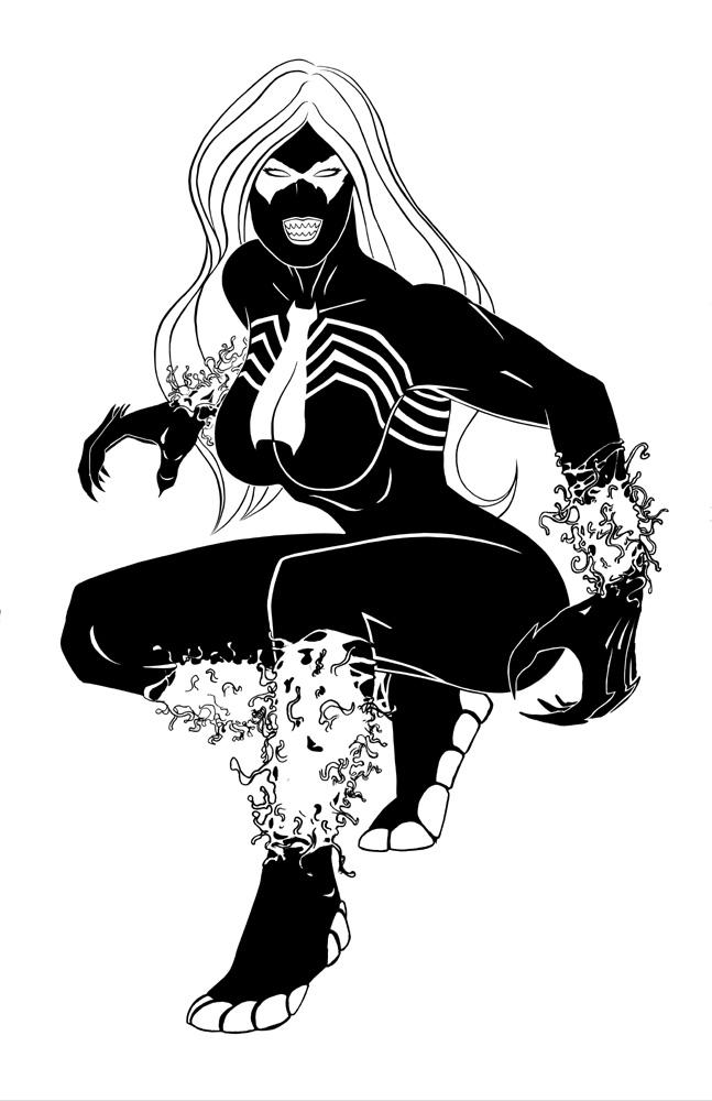 Black Cat as Venom 2