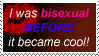 I Was Bi Before STAMP by ElvenAngel