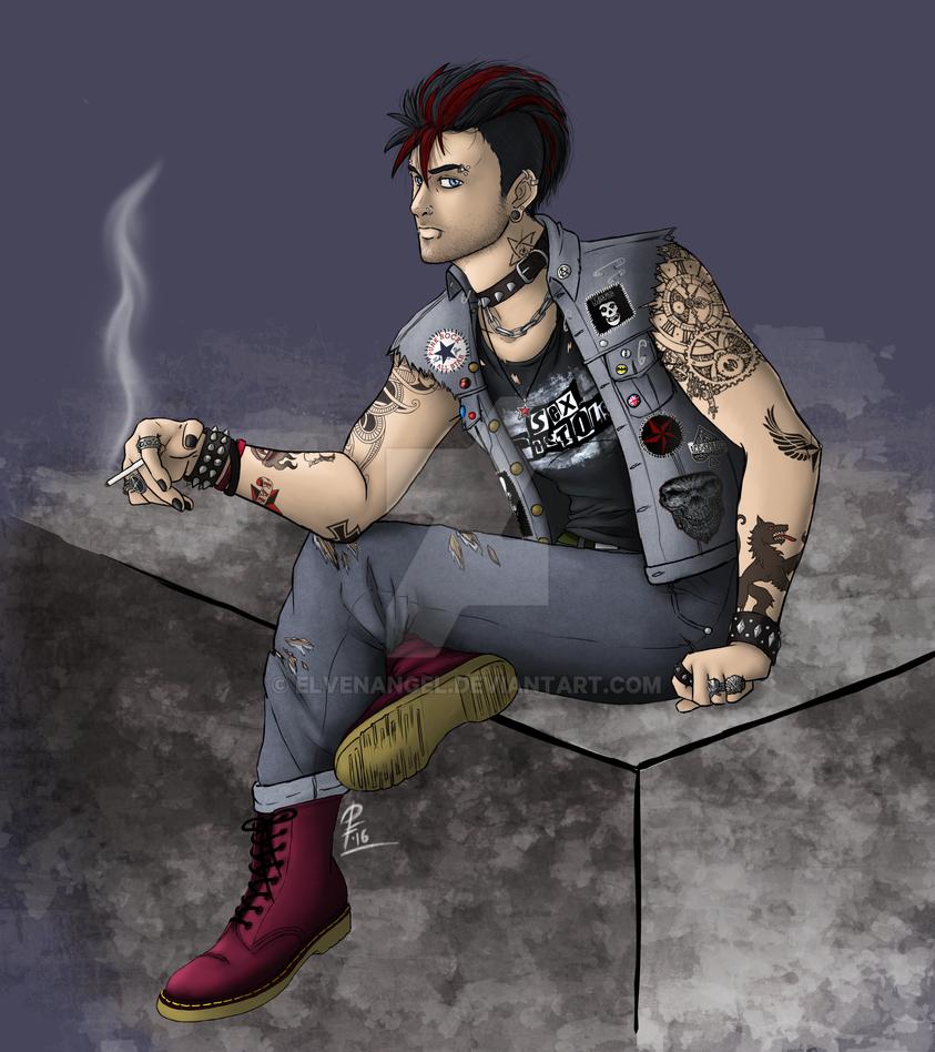 Punk Rocker by ElvenAngel