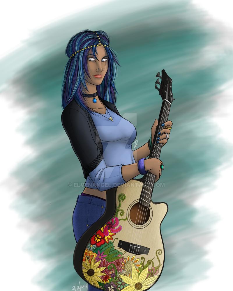 Commission: Aspasia by ElvenAngel
