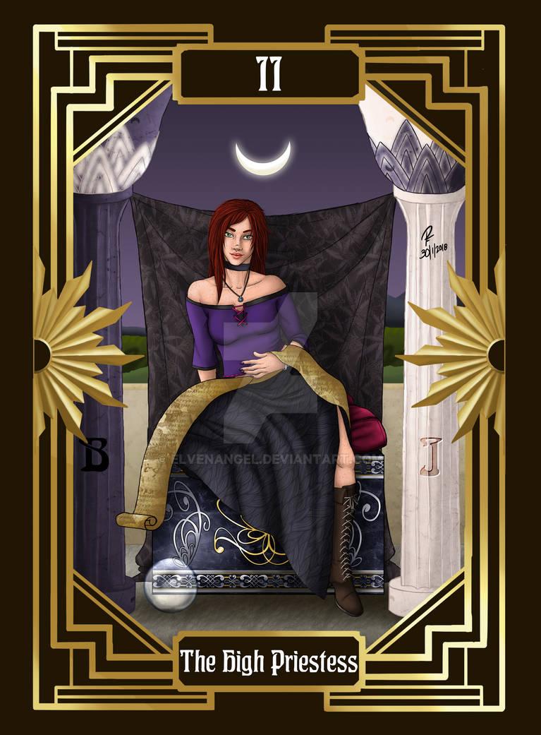 DMC Tarot - 2 - The High Priestess