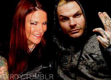 Jeff Hardy and Lita selfie by nike1221