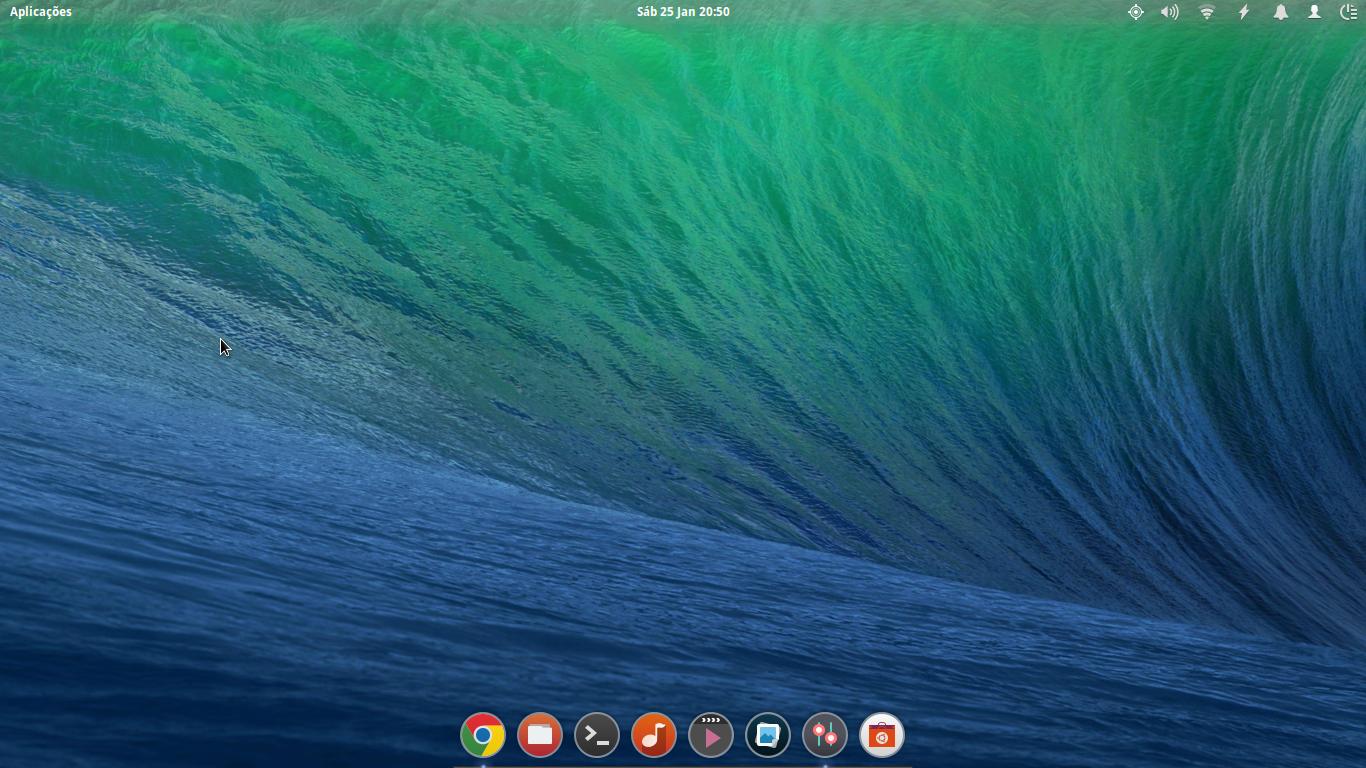 Captura de ecra Elementary OS (Linux) by DiogoOliveira