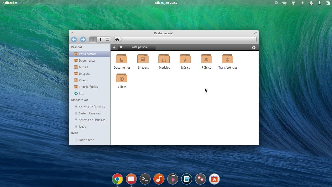 Captura de ecra Elementary OS (Linux)_2 by DiogoOliveira