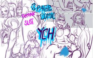 NSFW comic YCH by W-O-T-A-N
