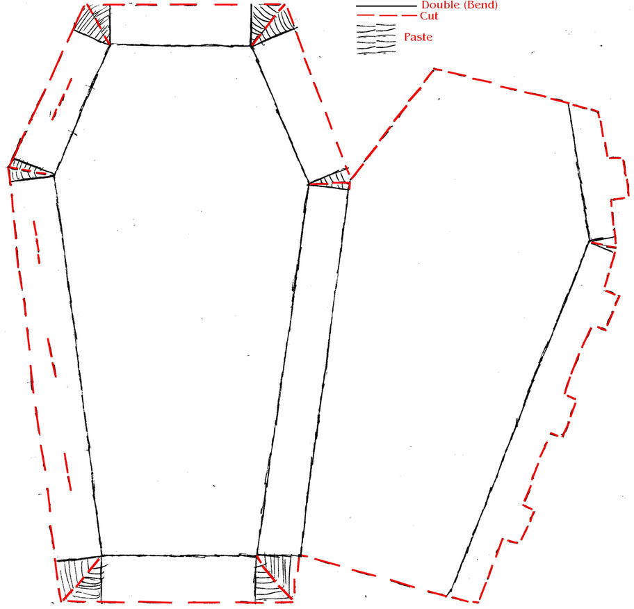 sample of coffin template images coffin template nail art design