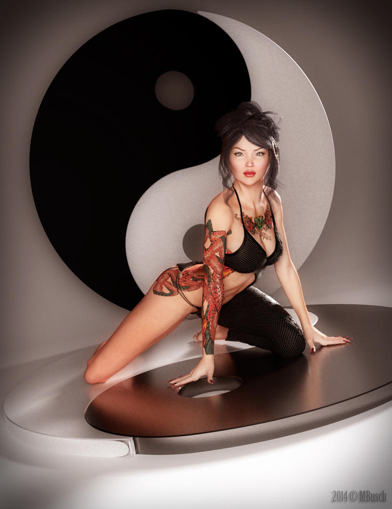 Not so Yin. Not so Yang. by MBusch