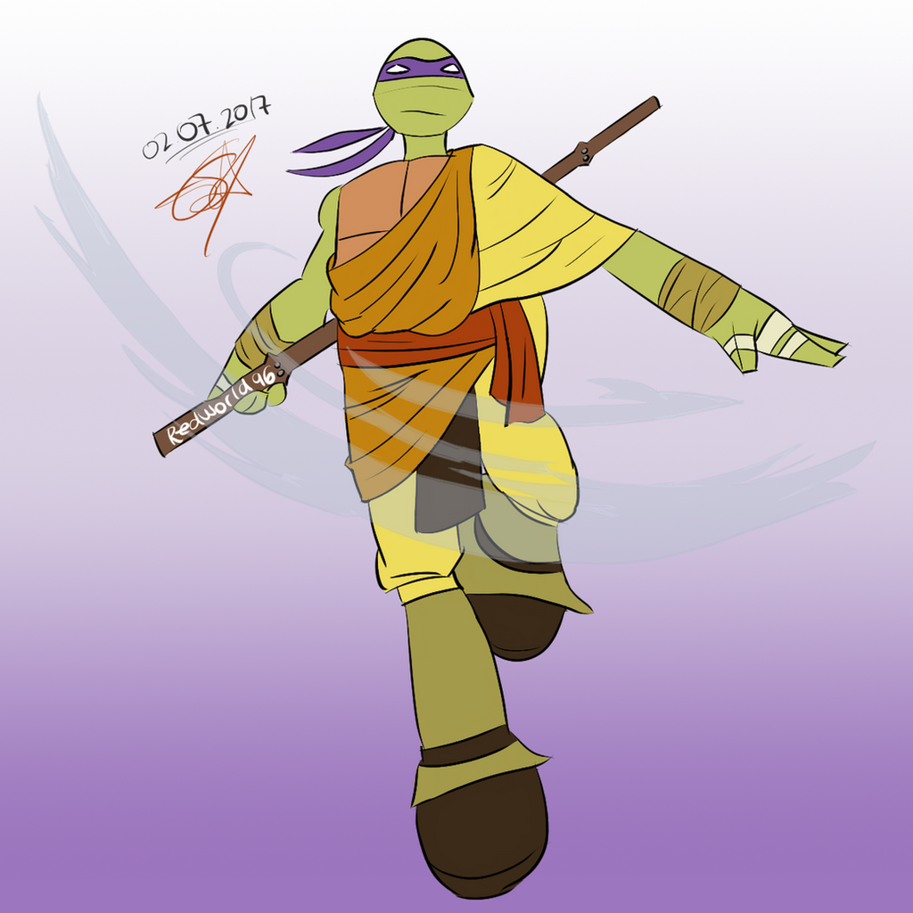 Donatello, the Airbender by Redworld96