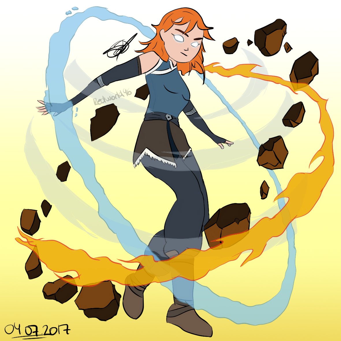 April, The Avatar|Born in Northern Water Tribe by Redworld96