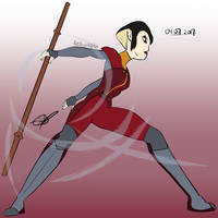 Karai, the New Generation of Airbenders by Redworld96