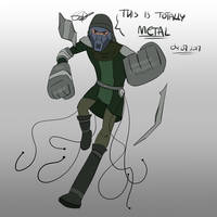 Casey J., Soldier specializing in Metalbending by Redworld96