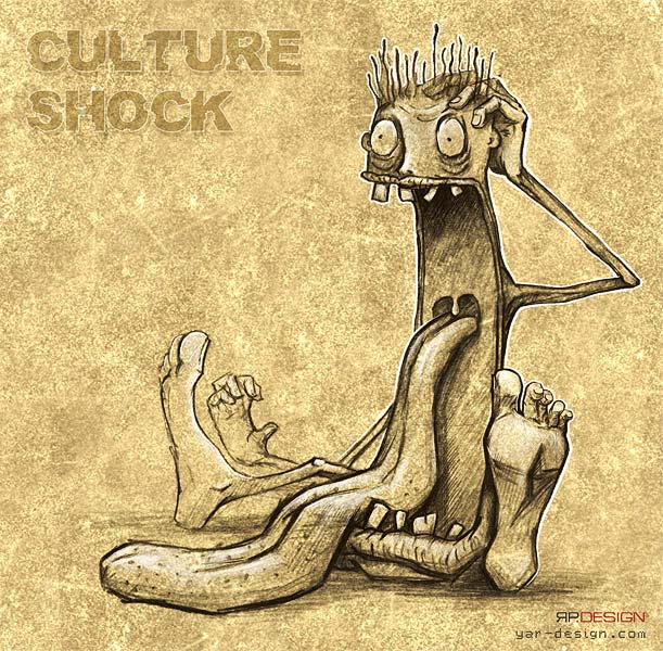 Culture shock by yarry