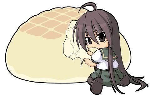 Chibi shana eating by skye23456 on DeviantArt