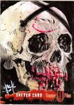 Hammer Horror Sketchcard