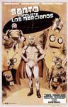 El Santo Conquers the Martians poster