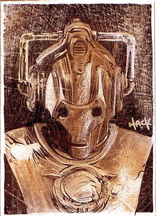 Tarnished Cyberman by RobertHack