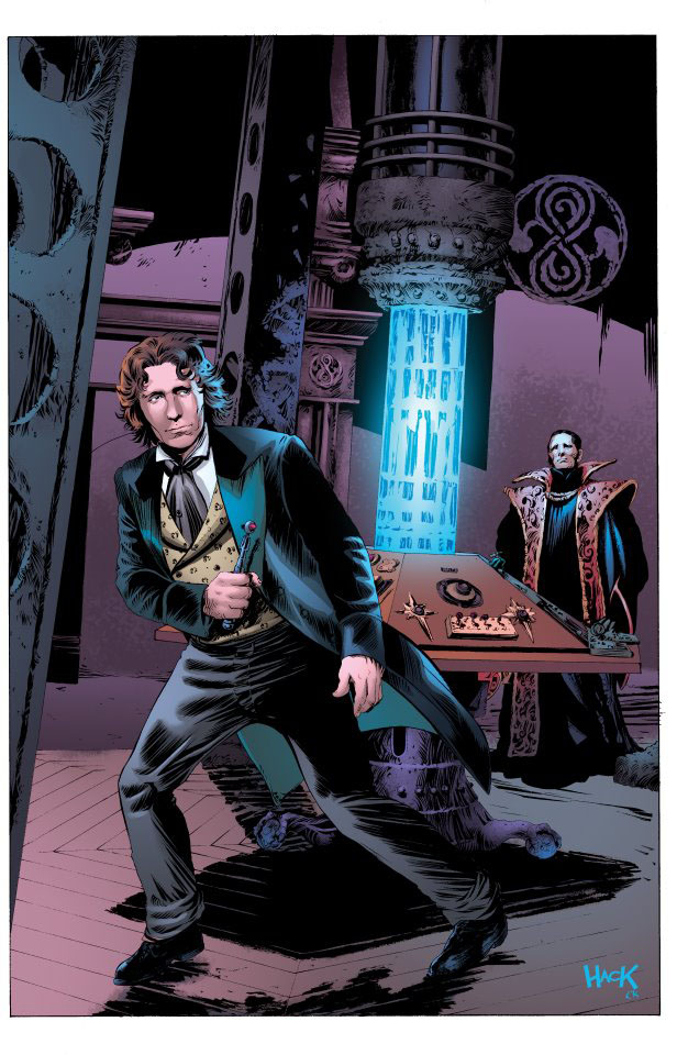 who scream the of doctor shalka
