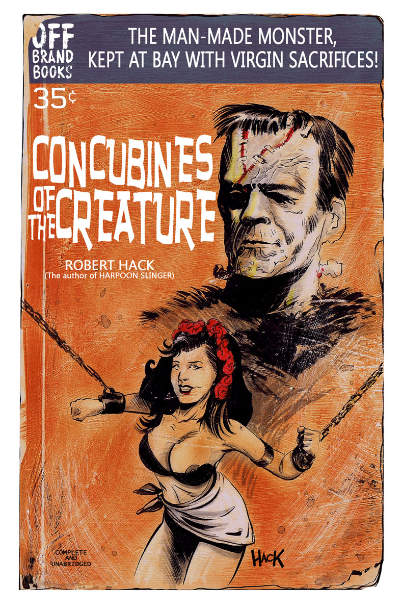 CONCUBINES OF THE CREATURE by RobertHack