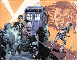 Doctor Who: Prisoners of Time #10 variant covers by RobertHack