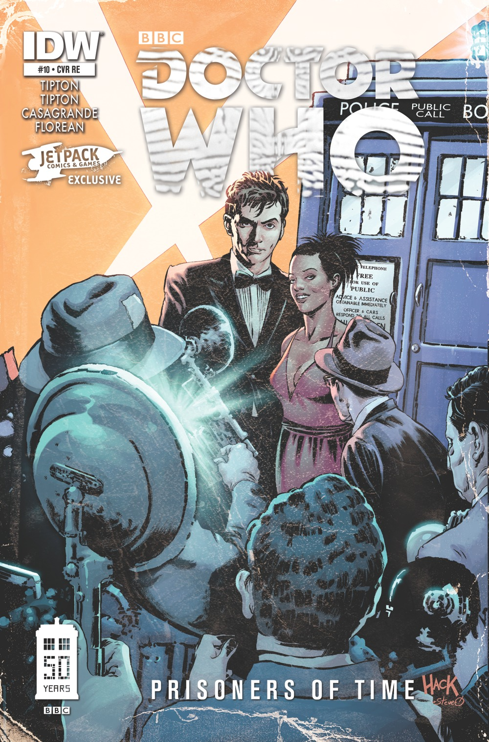 Doctor Who Prisoners of Time #10 Jetpack Comics by RobertHack
