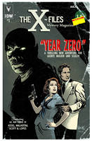 The X-Files: Year Zero #1 variant cover by RobertHack