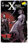 The X-Files: Year Zero #5 variant cover