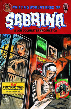 Sabrina #3 Variant Cover.