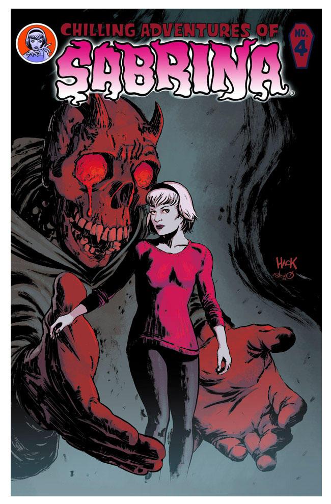 Sabrina #4 Cover